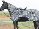 Ausreitdecke Moskito `Zebra`