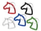 Schlüsselanhänger Pferdekopf Karbiner