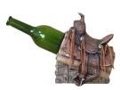 Wine Holder als Westernsattel