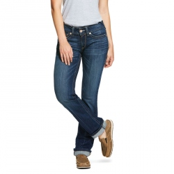 R.E.A.L. Mid Rise Stretch Rookie Stackable Straight